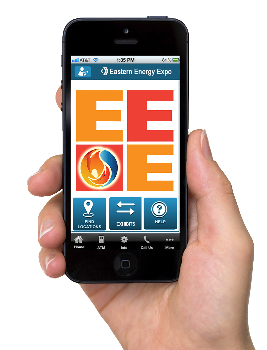 The Eastern Energy Expo mobile app gives you mobile access to the event.